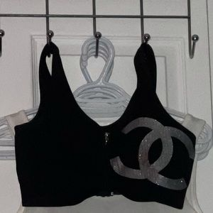 💜 Sports bra with front zipper 💜